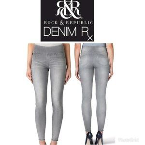 R&R Fever Demin Rx Midrise Pull On Jean Legging 18